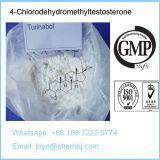 Esteroides CAS 2446-23-3 del crecimiento del músculo de Turinabol 4-Chlorodehydromethyltestosterone para el aumento del músculo