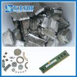 Hochwertiges Thulium-Metall mit silbernes Grau-Metall