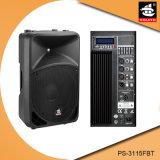 15 duim Bluetooth 5 de Plastic Actieve Spreker van de Band EQ met FM pS-3115fbt