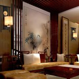 Традиционный китайский настенный светильник творческий и элегантный коридор света