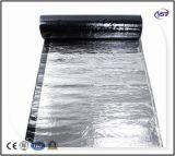 membrane imperméable à l'eau de bitume modifiée par polymère auto-adhésif Froid-appliqué