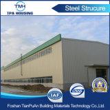 Подгонянный пакгауз стальной структуры фабрики конструкции строя