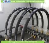 Manguito hidráulico flexible del manguito de goma hidráulico de la trenza del alambre inoxidable de la alta calidad