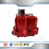 Vávula de bola eléctrica de la manera del actuador 3 de la fabricación de China