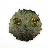 Значок Pin отворотом металла самого лучшего высокого качества изготовления Китая изготовленный на заказ