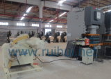 製造工業(RGL-600)のストレートナ装置とのUncoiler