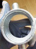 Los andamios apuntalamientos Prop la tuerca del manguito con pasador de galvanizado