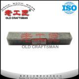 Moulage en acier de clou de carbure cimenté de tungstène pour la vis en acier