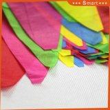 주문 작은 다채로운 거는 삼각형 페넌트 끈 깃발