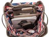 Waschender Segeltuch-Rucksack für Männer