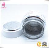 Contenitore di vetro cosmetico con la protezione di alluminio per cura personale