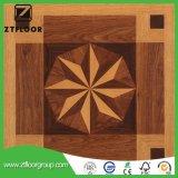 Carrelage stratifié par bois de bonne qualité ciré de cliquetis de HDF Unilin