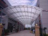 El panel de Multiwall U del policarbonato, el panel sólido de U, cubriendo la hoja, tragaluz