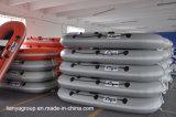 Bateaux gonflables de pêche de Liya 2.2-2.8m petits de constructeurs gonflables de bateaux
