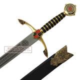As espadas medievais da decoração das espadas das espadas das cruzadas 113cm HK81028au