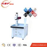 Cer, Faser-Laser-Gravierfräsmaschine ISO-Ipg 20With30W für Kohlenstoff/Fluss-Stahl