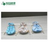 Sacchetto di mano differente del cotone del disordine di specifiche di alta qualità su ordinazione all'ingrosso/sacchetto di Drawstring per la ragazza