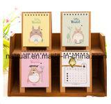 高品質の壁掛けカレンダー及び卓上カレンダー及び螺線形のカレンダの印刷
