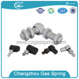 Car Top spin Gas Spring with Ball Gasket for Rear