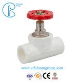 Montaje del tubo PPR PPR Unión única válvula de bola con rosca hembra