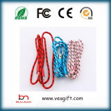 Buntes Blitz-Netz-Kabel USB-Kabel-Adapter-Daten USB-Kabel