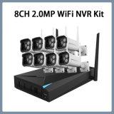 Systems-Kamera des 8CH 1080P Wi-FI IPcctv-Sicherheits-Installationssatz-drahtloser NVR bedienungsfertiger VGA HDMI