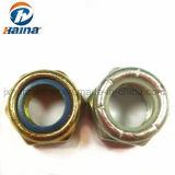 자동 폐쇄 통용 토크 유형 DIN985 DIN982/DIN985 탄소 강철 Gr4.8 Gr5.8 Gr8.8 Gr10.9에 의하여 직류 전기를 통하는 색깔 아연 육각형 나일론 견과