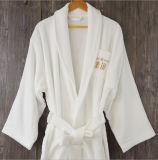 Peignoir 100% de Terry Embrodiery de coton pour l'hôtel d'étoile