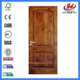 Puertas de madera confeccionadas de madera de Hyderabad del marco de puerta de la teca