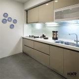Controsoffitto di pietra artificiale personalizzato dell'isola di cucina di disegno