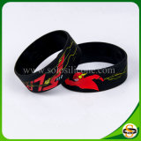 Браслет силикона логоса Sillicone подгонянный Wristband для случая