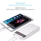 Yoobao малых банка для питания Xiaomi Mi 10000 mAh светодиодный индикатор питания банк портативное зарядное устройство внешнего аккумулятора