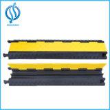 Protezione esterna, pavimento del cavo del rivestimento giallo della protezione del cavo delle 5 Manica