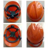 안전 건축 맨 위 보호를 위한 방어적인 아BS & 플라스틱 헬멧