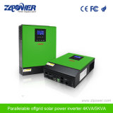 중국 Supplier 4000va 48V Solar MPPT Inverter Single Phase Pure Sine Wave Solar Panel Inverter