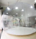 1.00mm 가족 야영을%s 투명한 PVC 야영 팽창식 명확한 천막