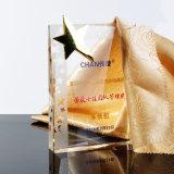 Личности Custom новые поступления Crystal медаль трофей Five-Pointed Круглая Trophy K9 Crystal трофей акрилового волокна