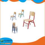Solo el asiento de madera contrachapada muebles Silla de la escuela para la lectura de la tabla