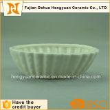Выбитый безопасный керамический шар белизны Ramekin торта