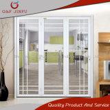 Vidrio de aluminio blanco del perfil plegable puertas Bi-Fold