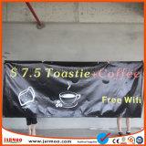Impermeable duradera impresión en PVC Banner 120x300cm.