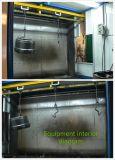 Cabine de peinture de rotation de l'eau