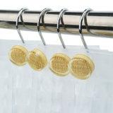 Les crochets de douche en acier inoxydable avec doubles couches de la décoration de résine