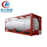 De fabriek verkoopt de 20ft Gebruikte Container van de Tank van LPG ISO met Tractor