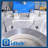 Válvula de puerta neumática autolimpiador del cuchillo de Didtek