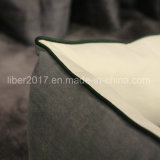 Fabrik Soem-graues quadratisches Luxuxhundebett-Haustier-Bett