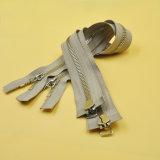 Metallgeöffnetes Enden-bidirektionaler Qualitäts-Reißverschluss mit Splitter