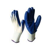 Le nitrile de haute qualité de la moitié couché la protection des mains de jardinage Gants de travail