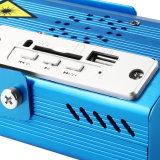 Weihnachtsgrün-Laserlicht-Stadiums-Beleuchtung des Aluminiumlegierung DJ-Geräten-5V 1A