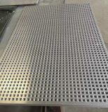 Malha de alumínio de metal perfurada folha da grelha do altifalante/Material de Aço Inoxidável